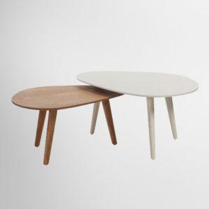 שולחן לסלון כהן רהיטים דגם וינטאג' ביצה גדול