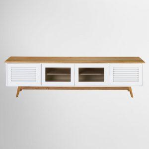 מזנון לבן מעץ מלא כהן רהיטים